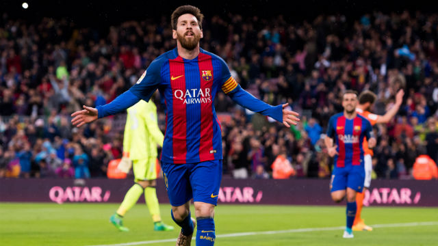 Messi Real Madrid'de