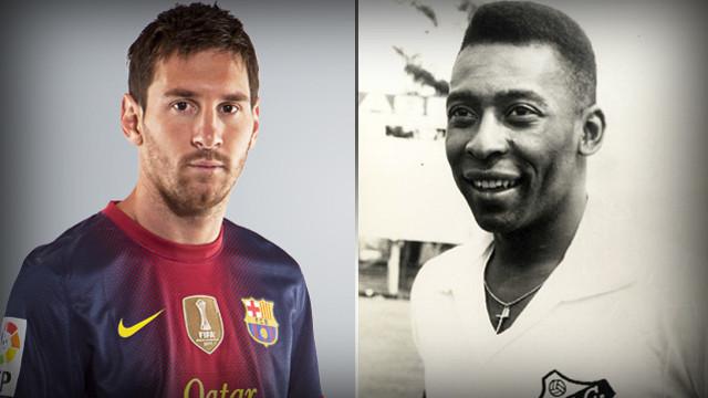 Ve Messi Pele'yi Geçti