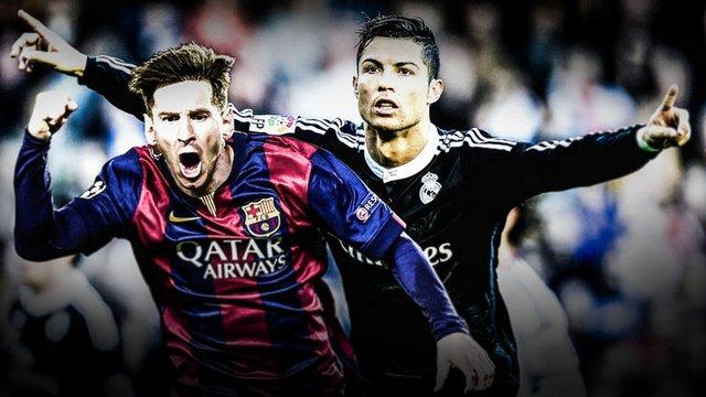 Ronaldo ve Messi'nin kariyer istatistikleri