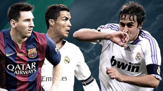 Ronaldo es geçti sıra Messi'de