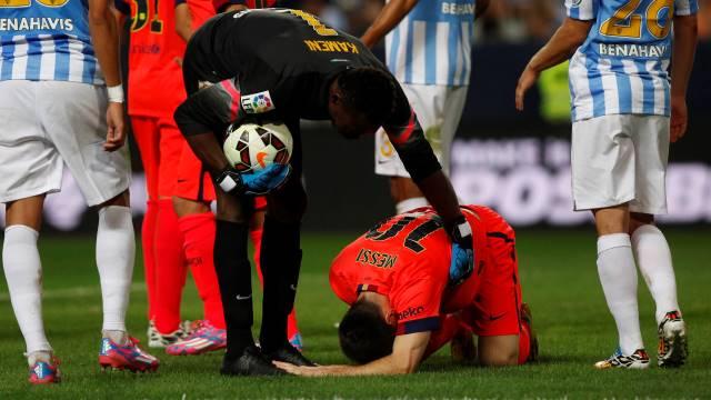 'Messi bana küfür etti'