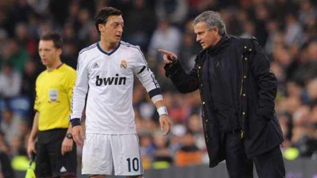 Mesut: Mourinho bana ağlak ve korkak dedi