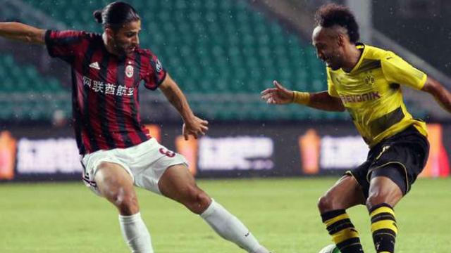 Dortmund, Milan'a geçit vermedi