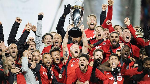 MLS'te şampiyon Toronto