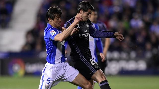 Ronaldo yoksa Morata var