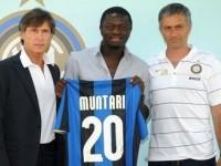 Muntari Inter ile imzaladı