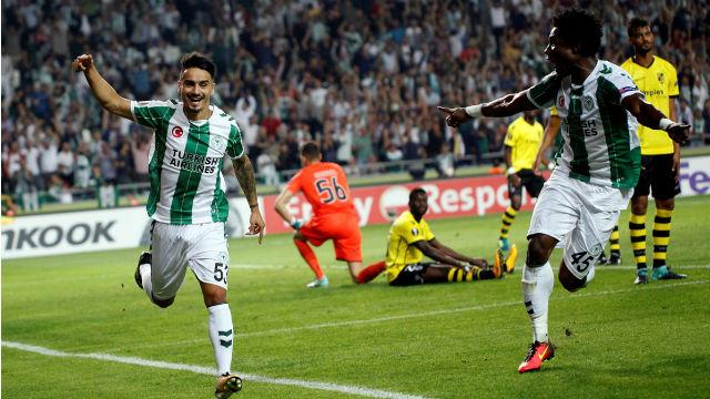 Konyaspor Avrupa'da siftah yaptı