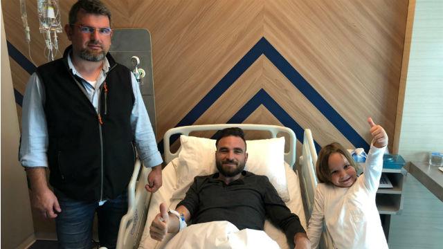 Musa Çağıran ameliyat edildi