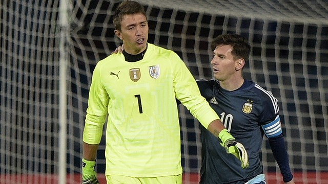 Muslera, Messi'yi dört gözle bekliyor