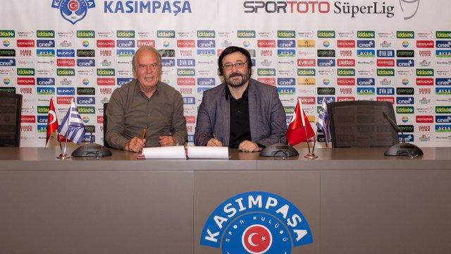 Kasımpaşa'nın yeni hocası Mustafa Denizli