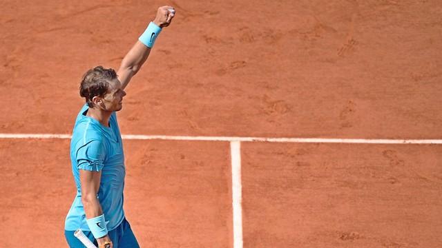 Fransa'da şampiyon yine Nadal!