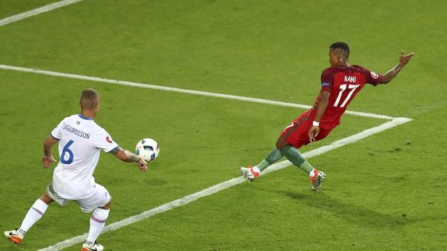 Nani attı, Portekiz'e yetmedi!