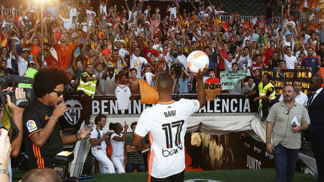 Valencia'da Luis Nani belirsizliği