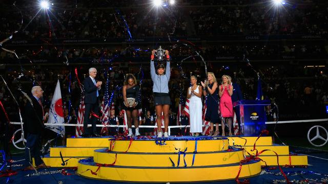 ABD Açık tek kadınlarda şampiyon Osaka!