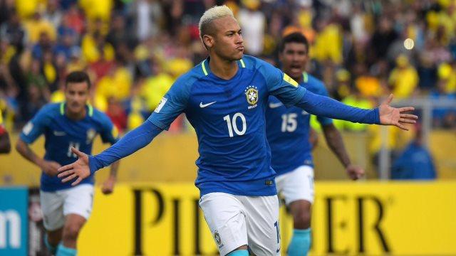 Neymar'lı Brezilya'dan farklı galibiyet