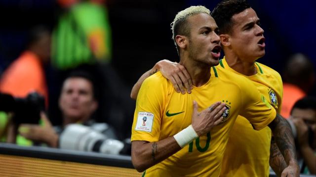 Brezilya, Neymar'la güzel...