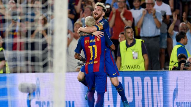 Barça'dan Camp Nou'da gol yağmuru!