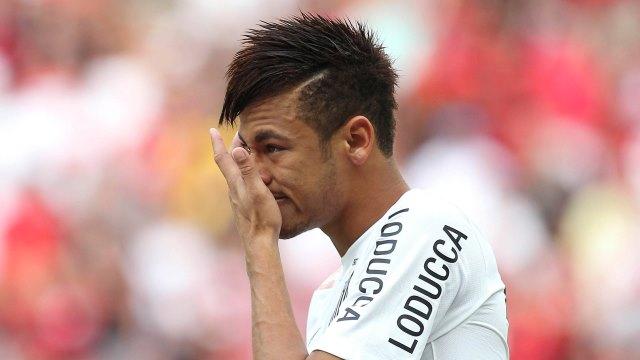 Neymar'ın Gözyaşları