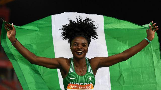 Nijeryalı atletlerden protesto
