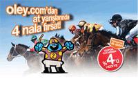 Oley.com'da at yarışı keyfi başladı!