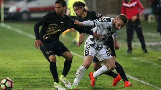 Osmanlıspor, Konyaspor'u elinden kaçırdı
