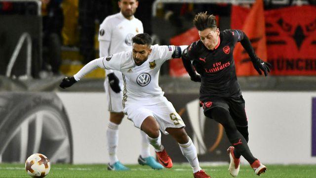 Arsenal, Östersunds'a fazla geldi