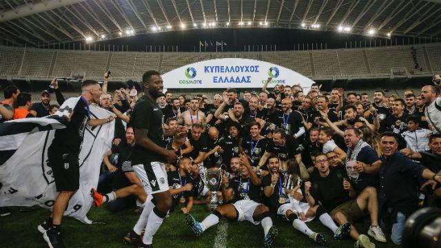 Yunanistan Kupası PAOK'un