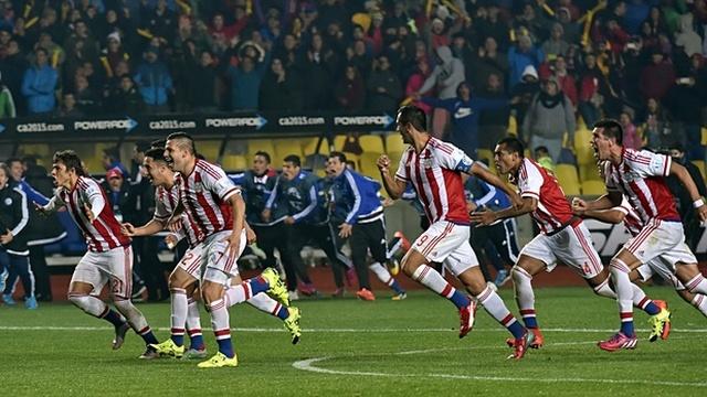 Paraguay, Brezilya'yı devirdi!