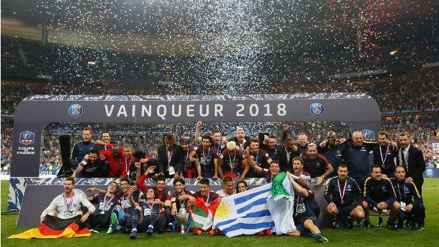 PSG kupa bırakmadı