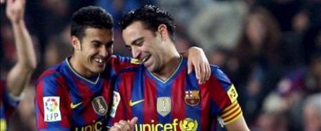 Barcelona'da Çifte İmza