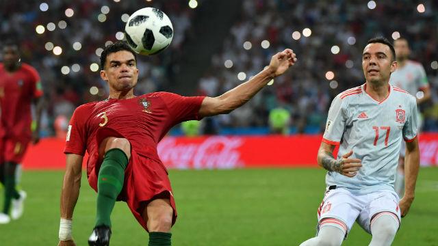 Pepe ikili mücadele kaybetmedi