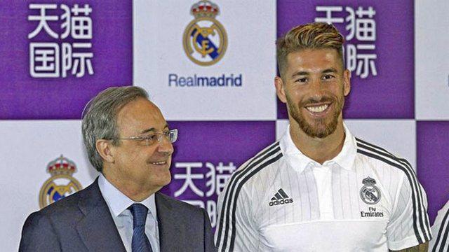 Sergio Ramos'ta mutlu son!