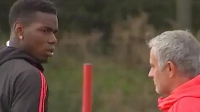 Pogba - Mourinho gerginliği kameralarda!