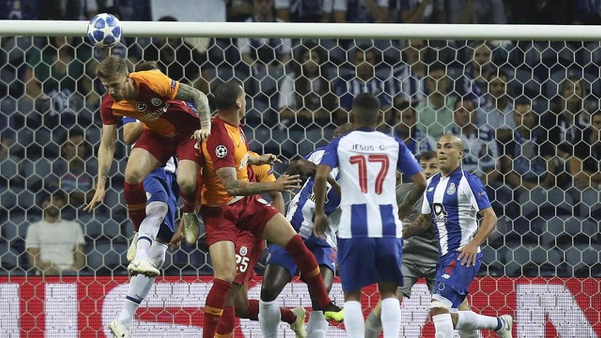 Galatasaray atamadı, Porto kazandı