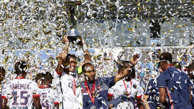 PSG sezona kupayla başladı