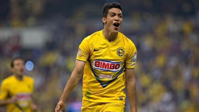 Atletico Madrid'e Meksikalı golcü