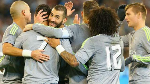 Real Madrid City'i dağıttı