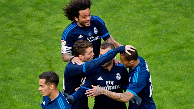 Real Madrid üst üste 4. kez