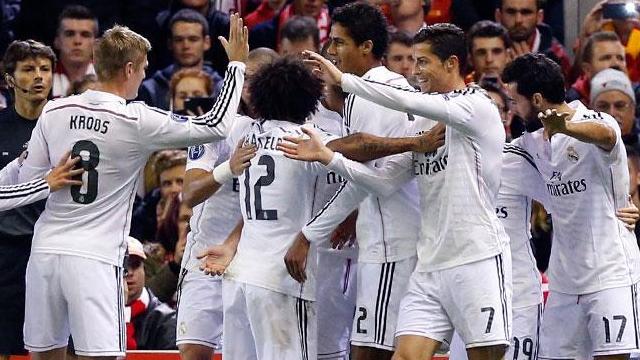 Real Madrid Anfield'da farka gitti