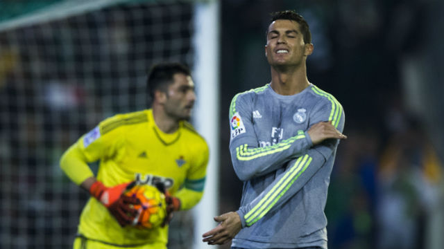 Real Madrid'e Betis çelmesi