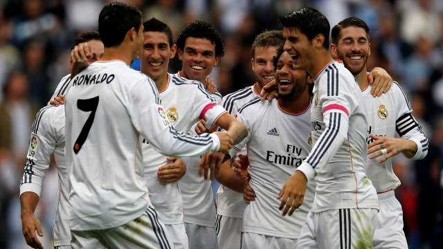 Real Madrid direkleri de yıktı