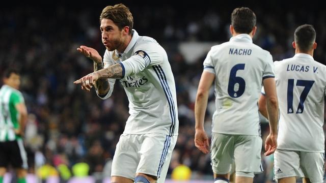 Real'in kurtarıcısı Ramos