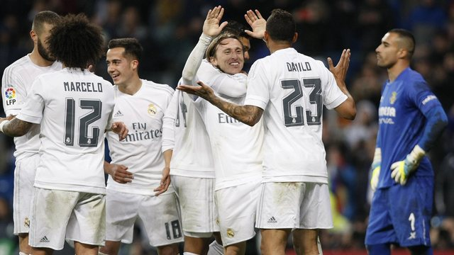 Real Madrid'den tarihi performans