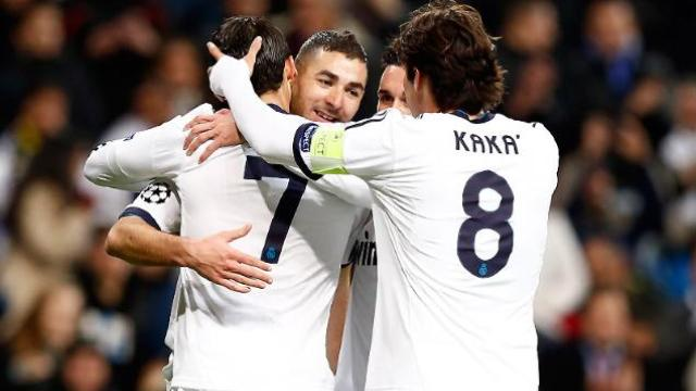 '4' Çeker Real Madrid