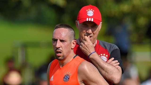 Ribery'nin Guardiola bayramı
