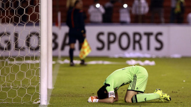 River Plate kalecisi yıkıldı