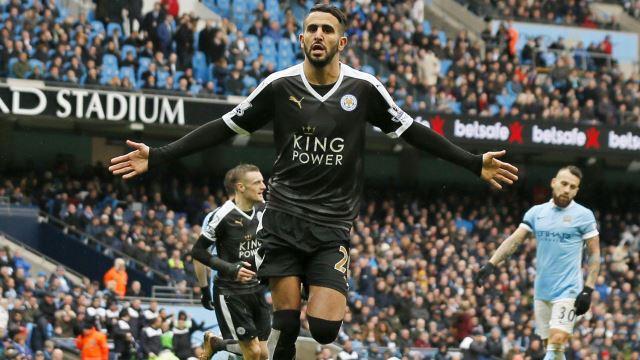 Manchester City Riyad Mahrez'in peşinde