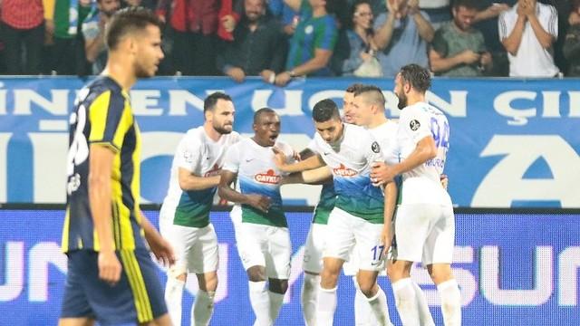 Fenerbahçe ilk yarıda yıkıldı!