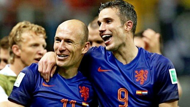 Robben'den Van Persie'ye destek