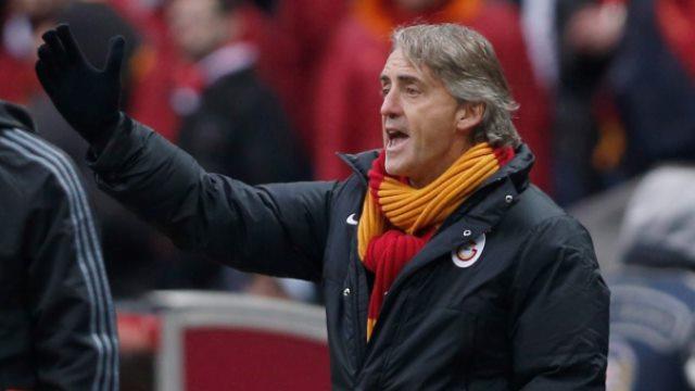 Mancini'yi çileden çıkardı!